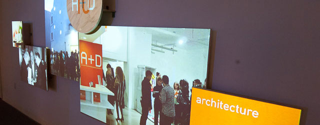 A+D Museum Exhibition